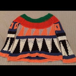Free People multi-color sweater